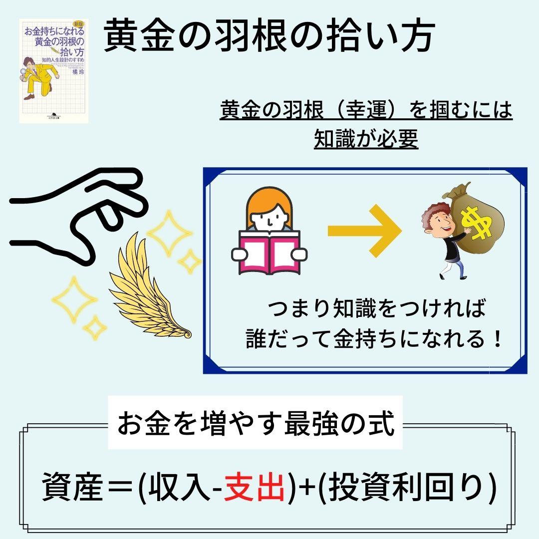 黄金の羽根の拾い方